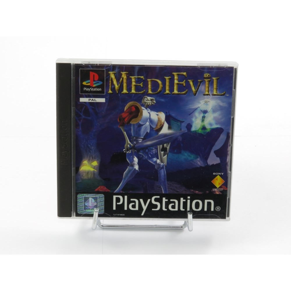 MEDIEVIL PS1 PAL-FR OCCASION (ETAT B)