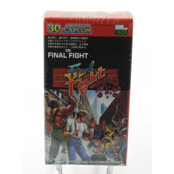 FINAL FIGHT MINI PUZZLE 150 PIECES JPN NEW
