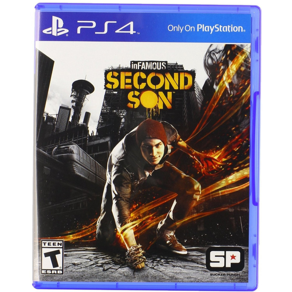 INFAMOUS SECOND SON PS4 US OCCASION