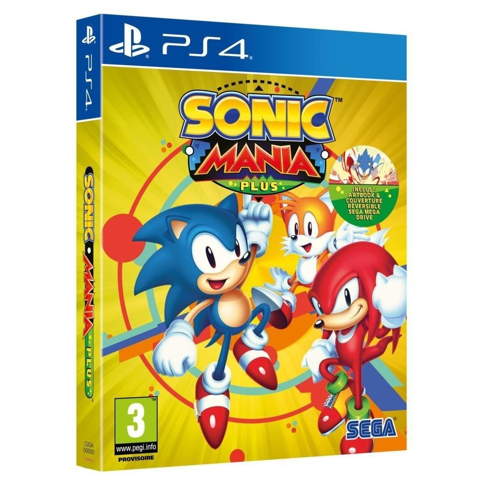 SONIC MANIA PLUS PS4 FR OCCASION