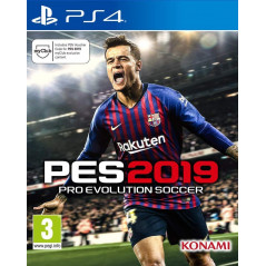 PES 2019 PS4 PAL FR NEW
