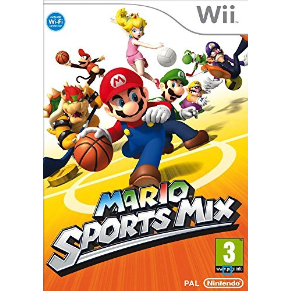 MARIO SPORTS MIX WII PAL-FR OCCASION