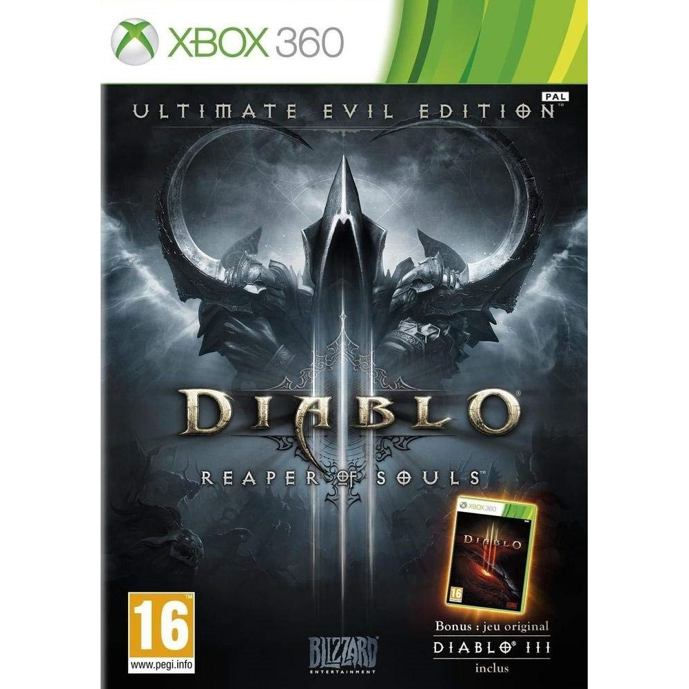 DIABLO III : REAPER OF SOULS ULTIMATE EVIL EDITION XBOX 360 PAL-FR OCCASION