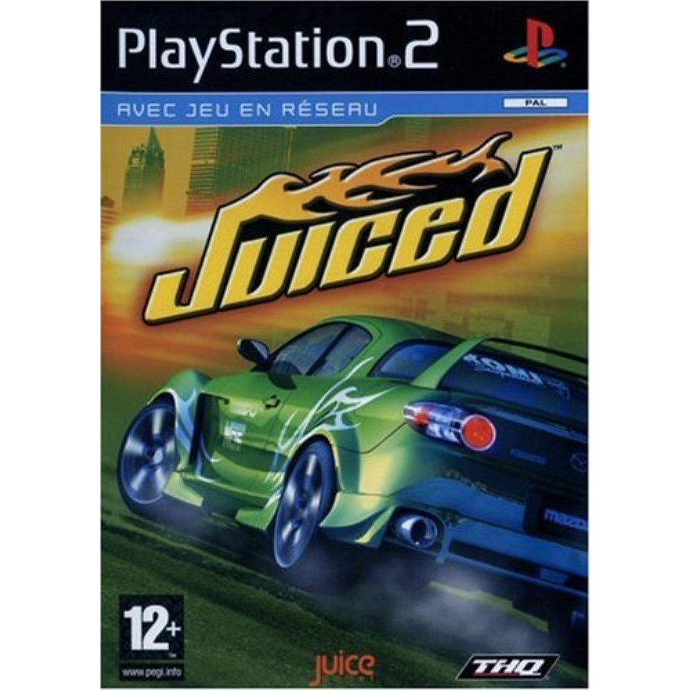JUICED PS2 PAL-FR OCCASION