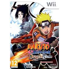 NARUTO SHIPPUDEN: DRAGON BLADE CHRONICLES WII PAL-FR OCCASION