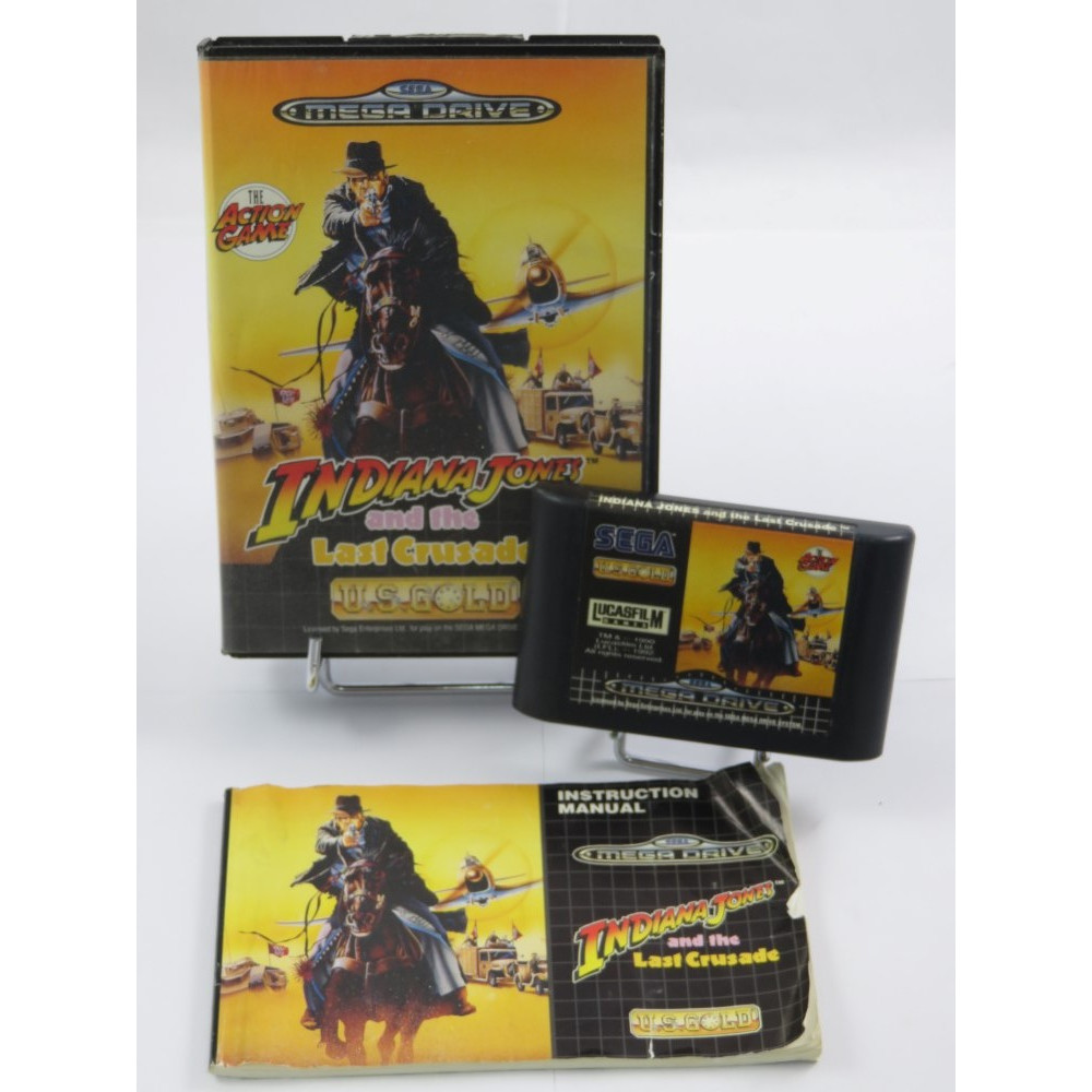 INDIANA JONES AND THE LAST CRUSADE MEGADRIVE PAL-EURO OCCASION