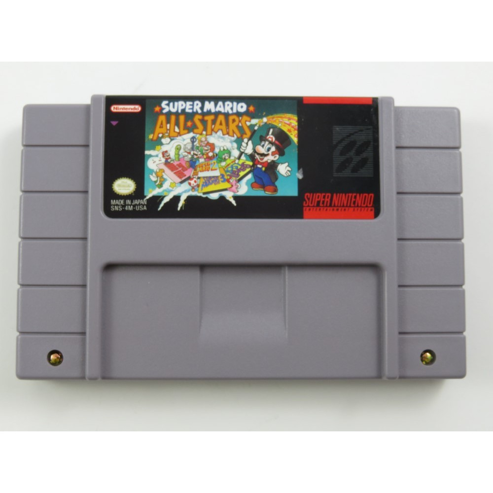 SUPER MARIO ALL STARS SNES NTSC-USA LOOSE(ETAT B)