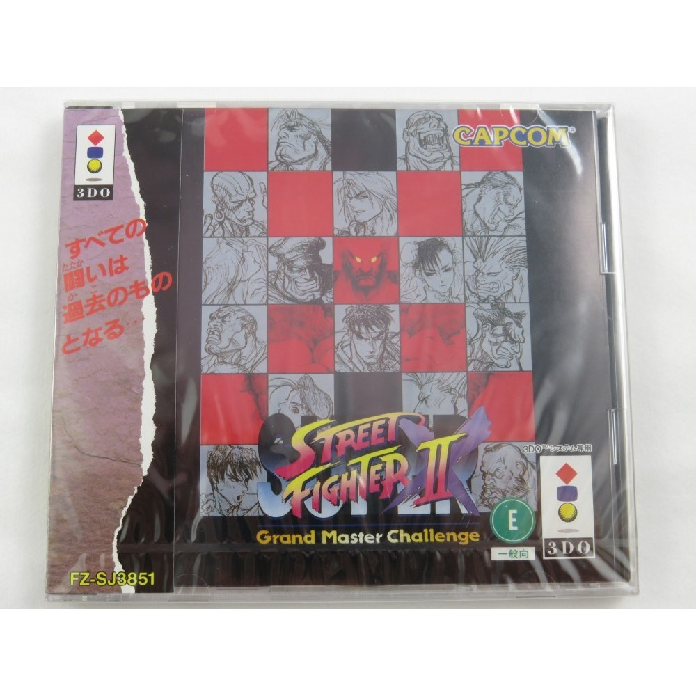 SUPER STREET FIGHTER II X 3DO JPN NEW (SEALED)