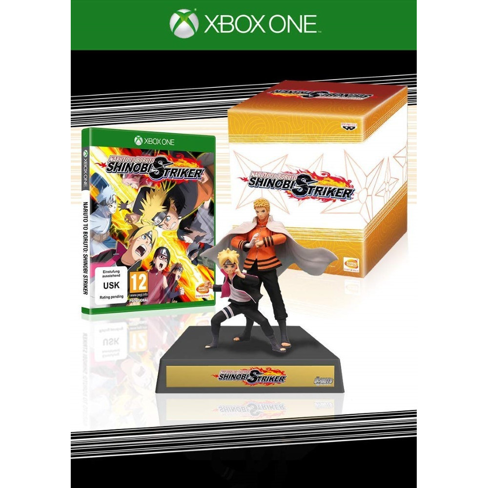 NARUTO TO BORUTO SHINOBI STRIKER COLLECTOR XBOX ONE FR NEW