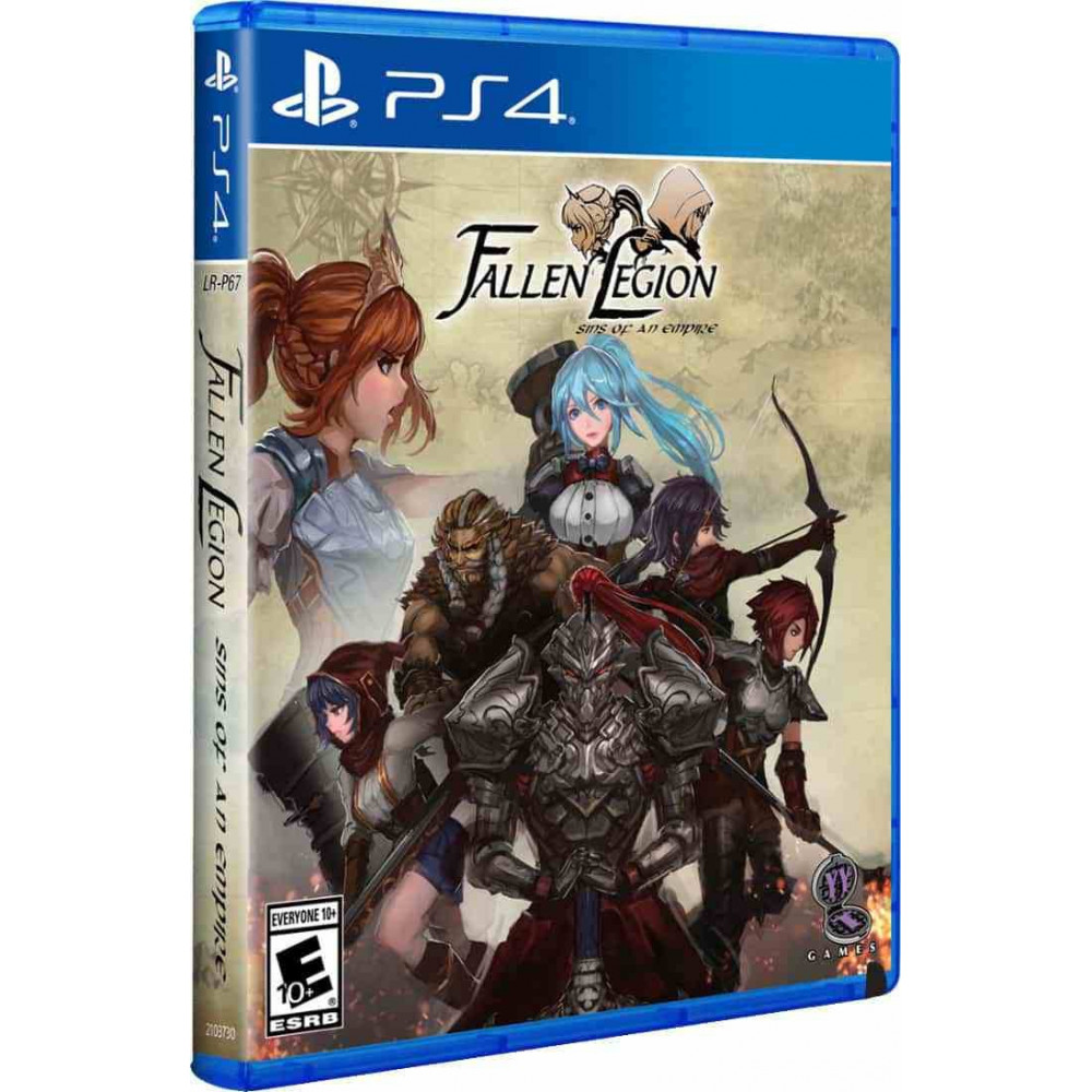 FALLEN LEGIONS SINS OF AN EMPIRE PS4 US OCCASION
