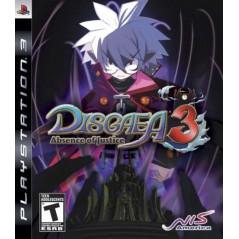 DISGAEA 3 PS3 USA OCCASION