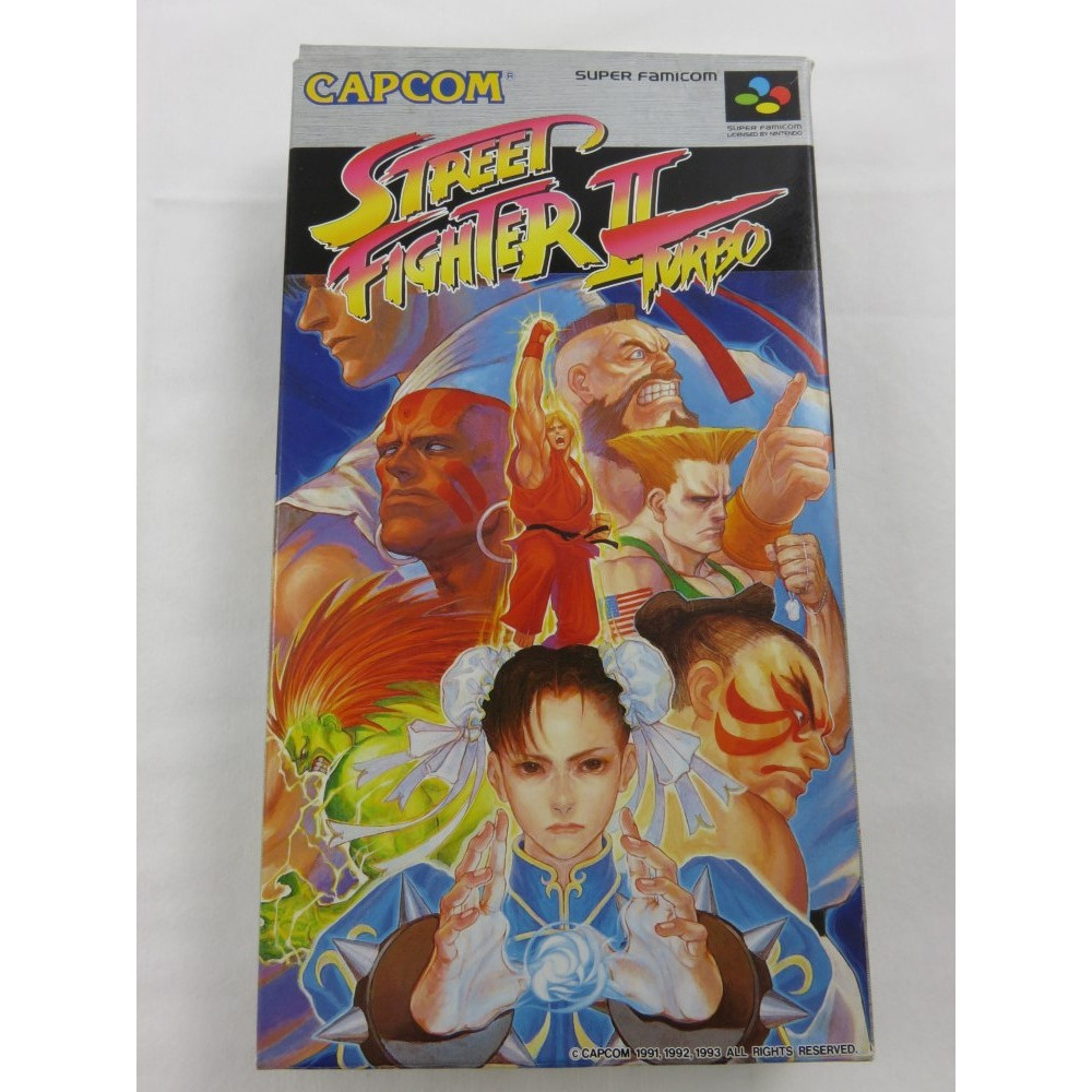 STREET FIGHTER II TURBO SFC NTSC-JPN OCCASION (ETAT B)