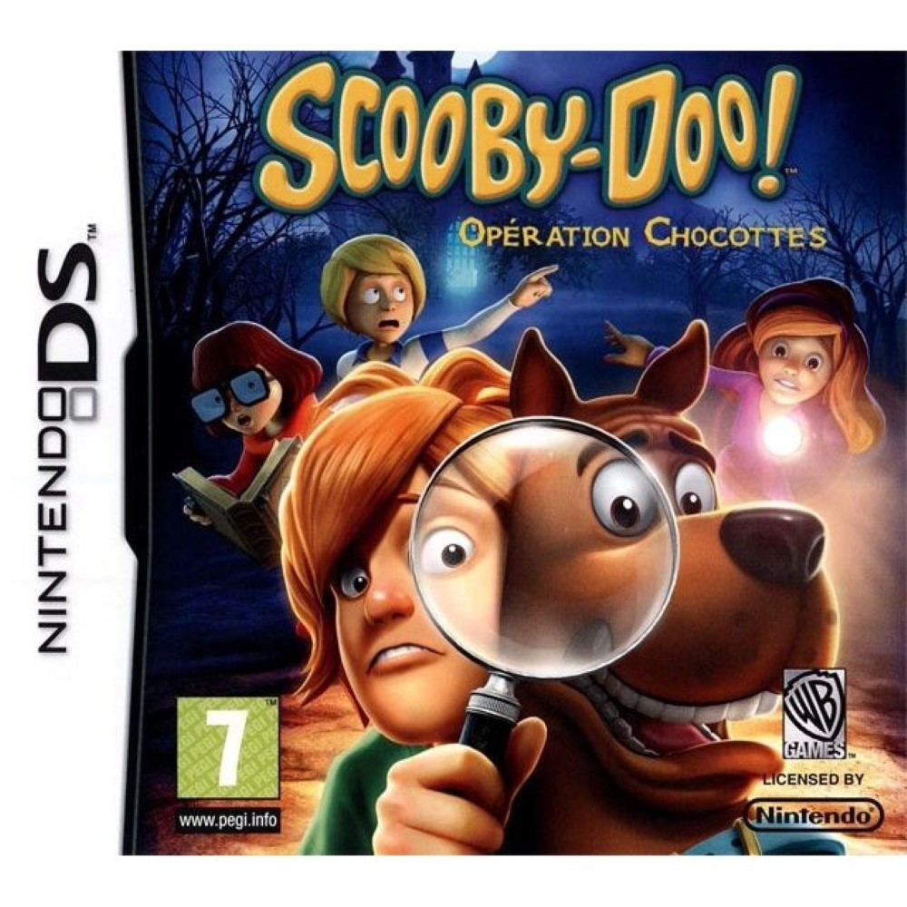 SCOOBY-DOO! OPERATION CHOCOTTES NDS FRA OCCASION