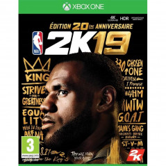 NBA 2K19 EDITION ANNIVERSAIRE XONE PAL FR NEW