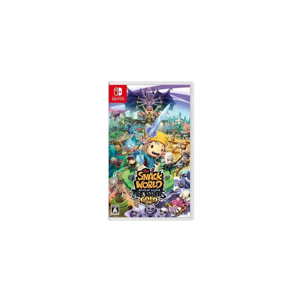 THE SNACK WORLD TREJARERS GOLD SWITCH JAP OCCASION