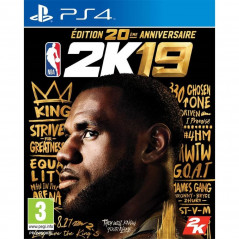 NBA 2K19 EDITION ANNIVERSAIRE PS4 PAL FR NEW