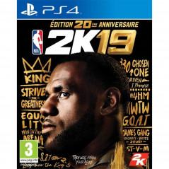 NBA 2K19 EDITION ANNIVERSAIRE PS4 PAL FR NEW
