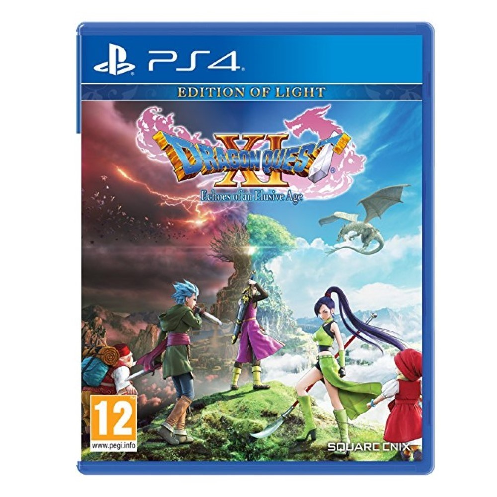 DRAGON QUEST XI: ECHOES OF AN ELUSIVE AGE PS4 UK OCCASION
