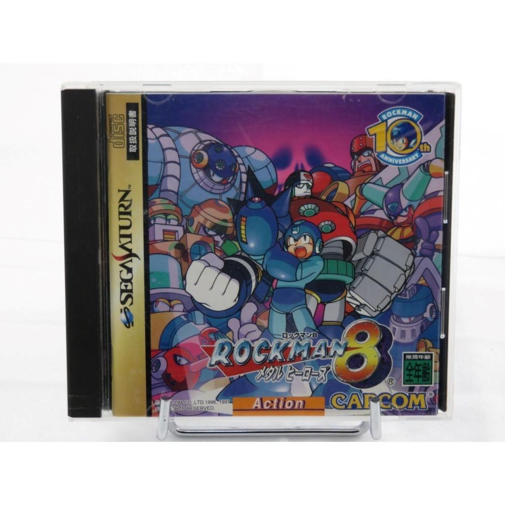 ROCKMAN 8 SATURN NTSC-JPN OCCASION