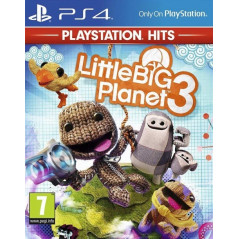 LITTLE BIG PLANET 3 PLAYSTATION HITS PS4 FR NEW