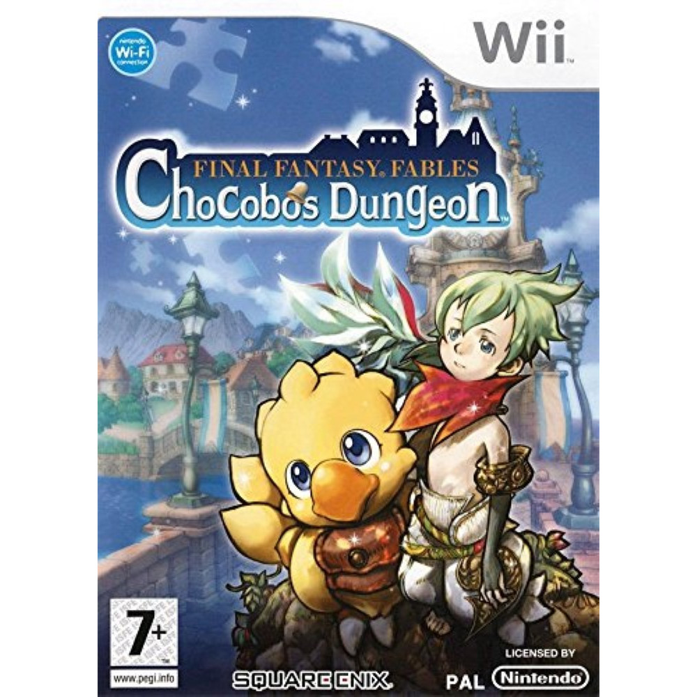 FINAL FANTASY FABLES CHOCOBOS DUNGEON WII PAL-FRA OCCASION