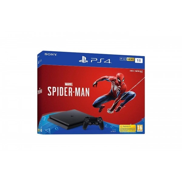 CONSOLE PS4 SLIM 1TO + SPIDERMAN EURO NEW