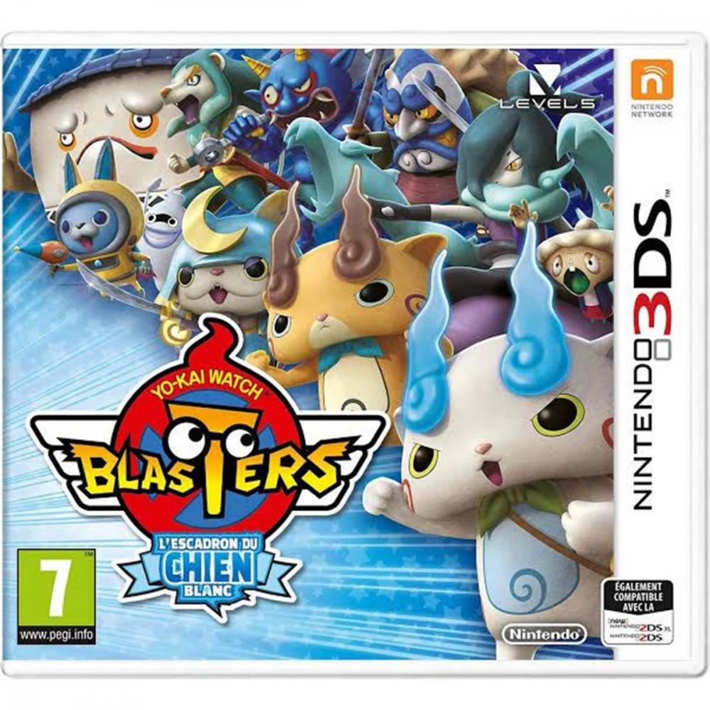 YO-KAI WATCH BLASTERS WHITE DOG SQUAD 3DS UK NEW