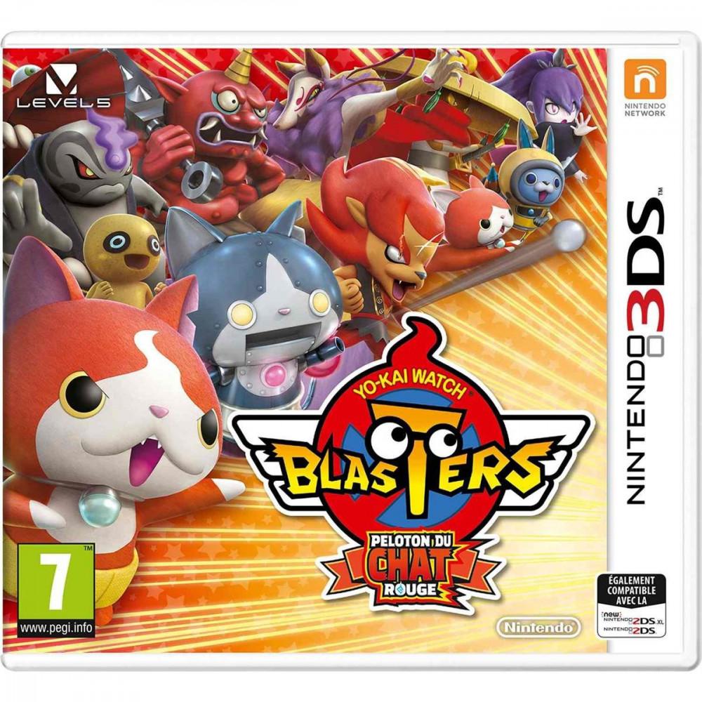 YO-KAI WATCH BLASTERS RED CAT CORPS 3DS UK NEW