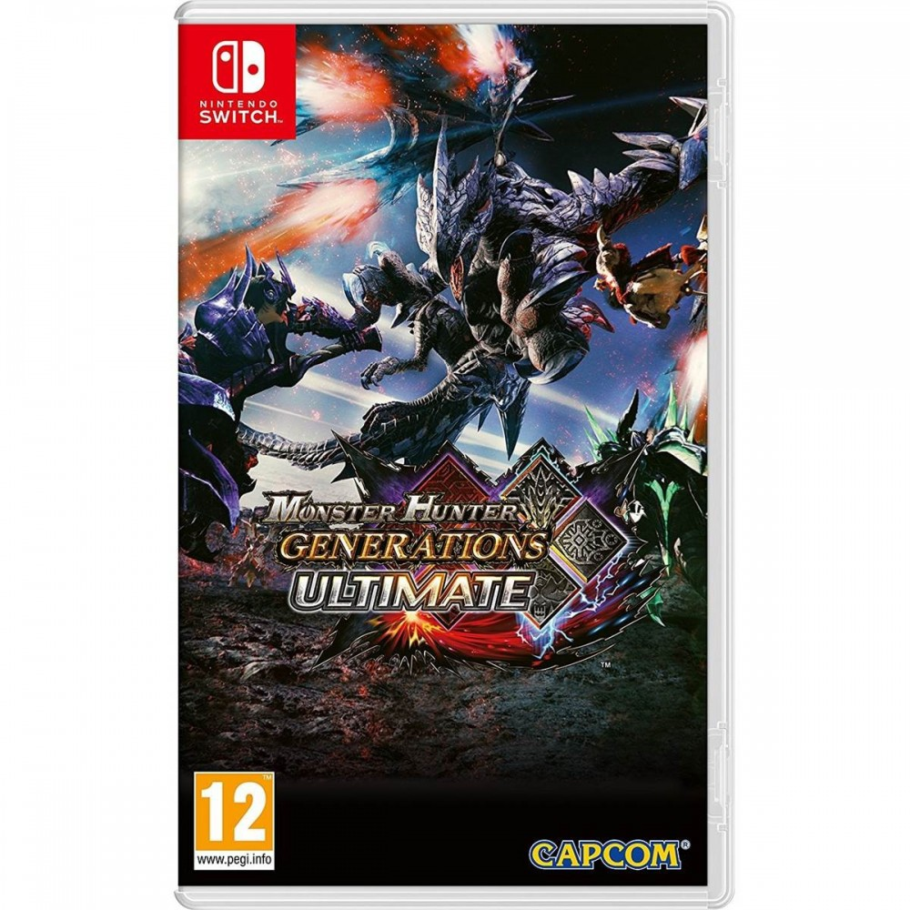 MONSTER HUNTER GENERATION ULTIMATE SWITCH FR OCCASION