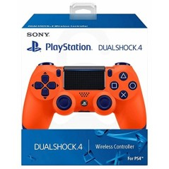 CONTROLLER DUAL SHOCK 4 SUNSET ORANGE EURO NEW