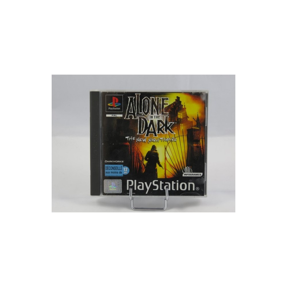 ALONE IN THE DARK THE NEW NIGHTMARE PS1 PAL FR OCCASION