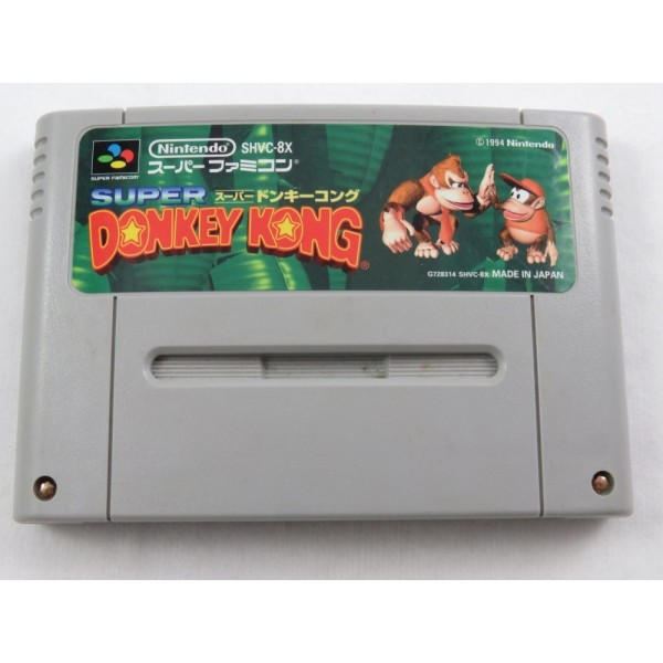 SUPER DONKEY KONG SFC NTSC-JPN LOOSE