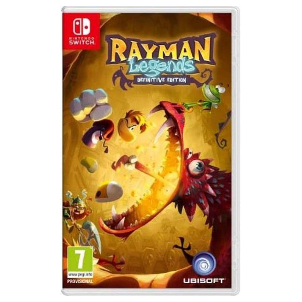 RAYMAN LEGENDS SWITCH EURO FR OCCASION