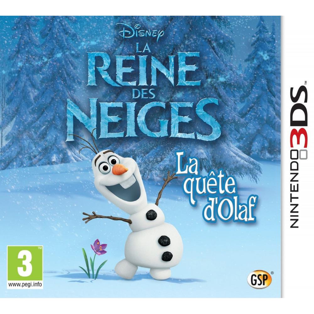 LA REINE DES NEIGES 3DS FR OCCASION