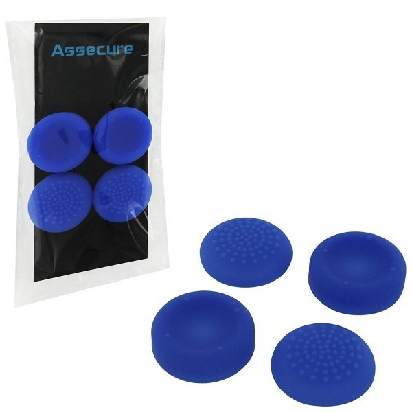 THUMB GRIP PACK BLUE PS4 EURO NEW