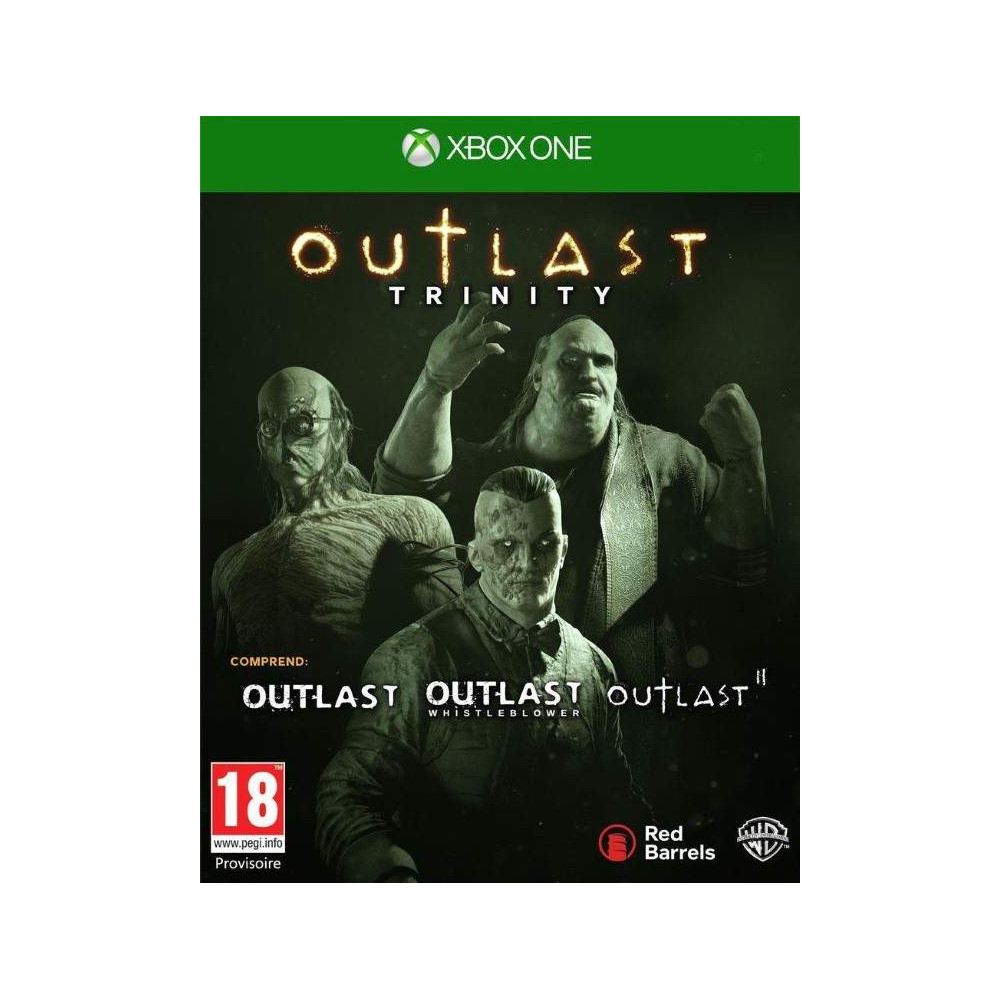 OUTLAST TRINITY XBOX ONE FR OCCASION