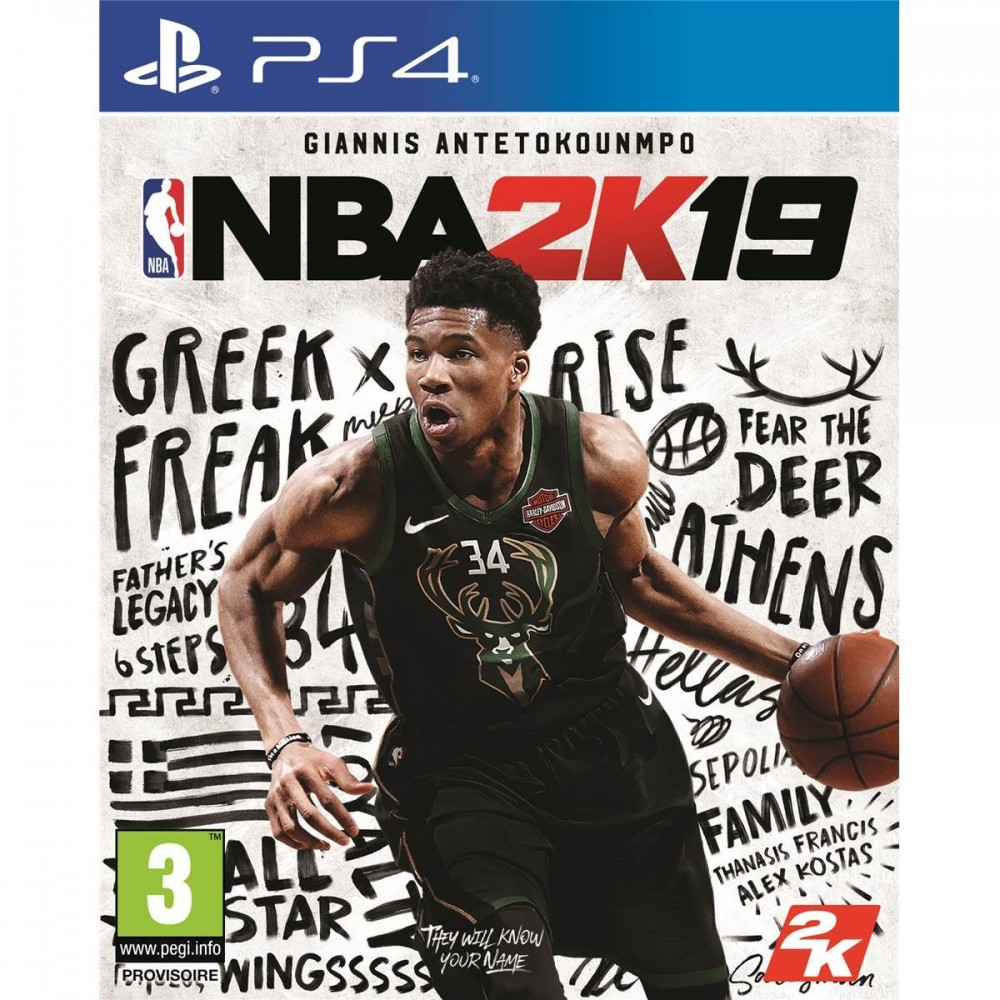NBA 2K19 PS4 FR OCCASION