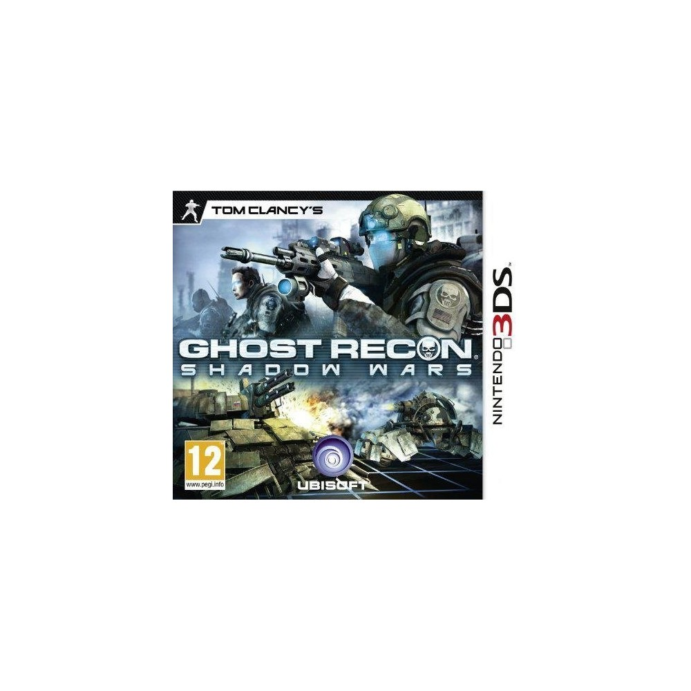 GHOST RECON SHADOW WARS 3DS EURO FR OCCASION