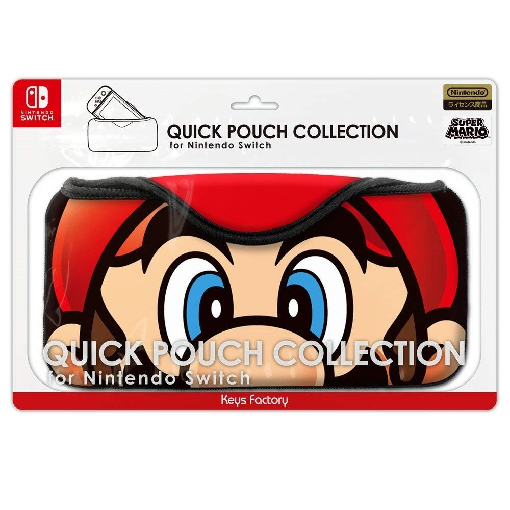 SUPER MARIO QUICK POUCH COLLECTION FOR NINTENDO SWITCH MARIO