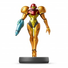 AMIIBO SUPER SMASH BROS. SERIES FIGURE SAMUS JPN NEW