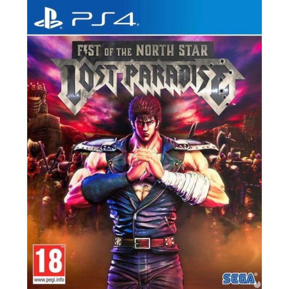 FIST OF THE NORTH STAR LOST PARADISE STEELBOOK PS4 FR NEW