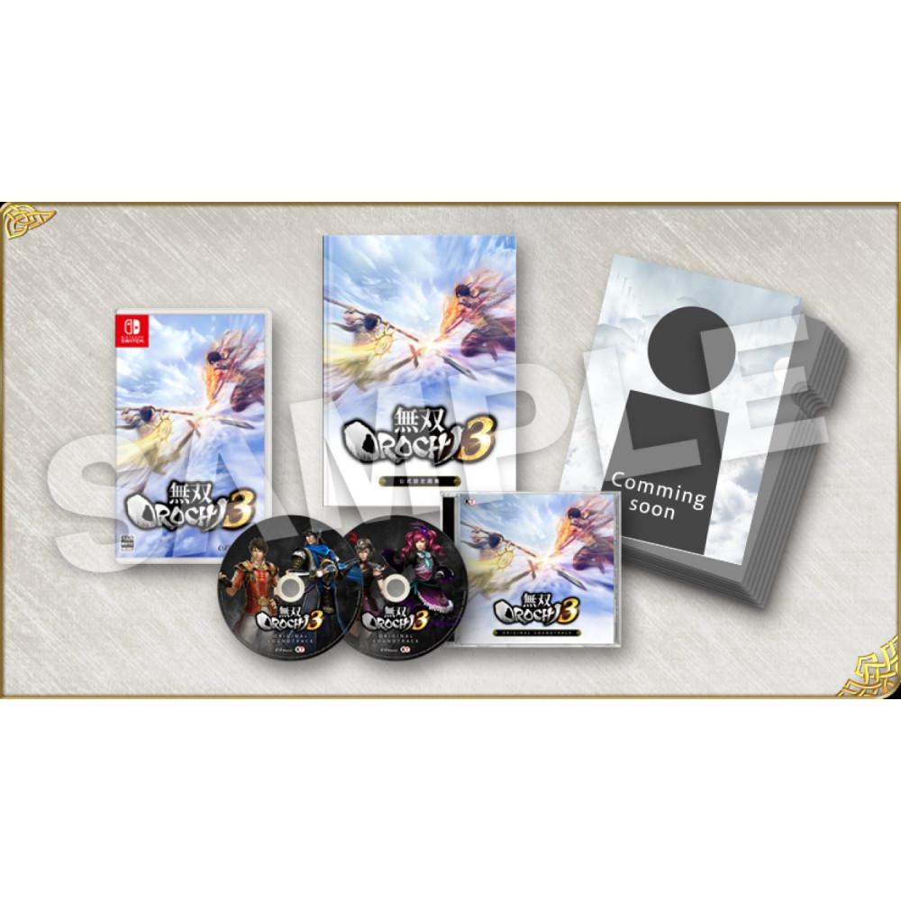 MUSOU OROCHI 3 SWITCH JPN NEW