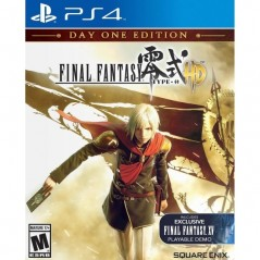 FINAL FANTASY TYPE-0 HD PS4 US OCCASION