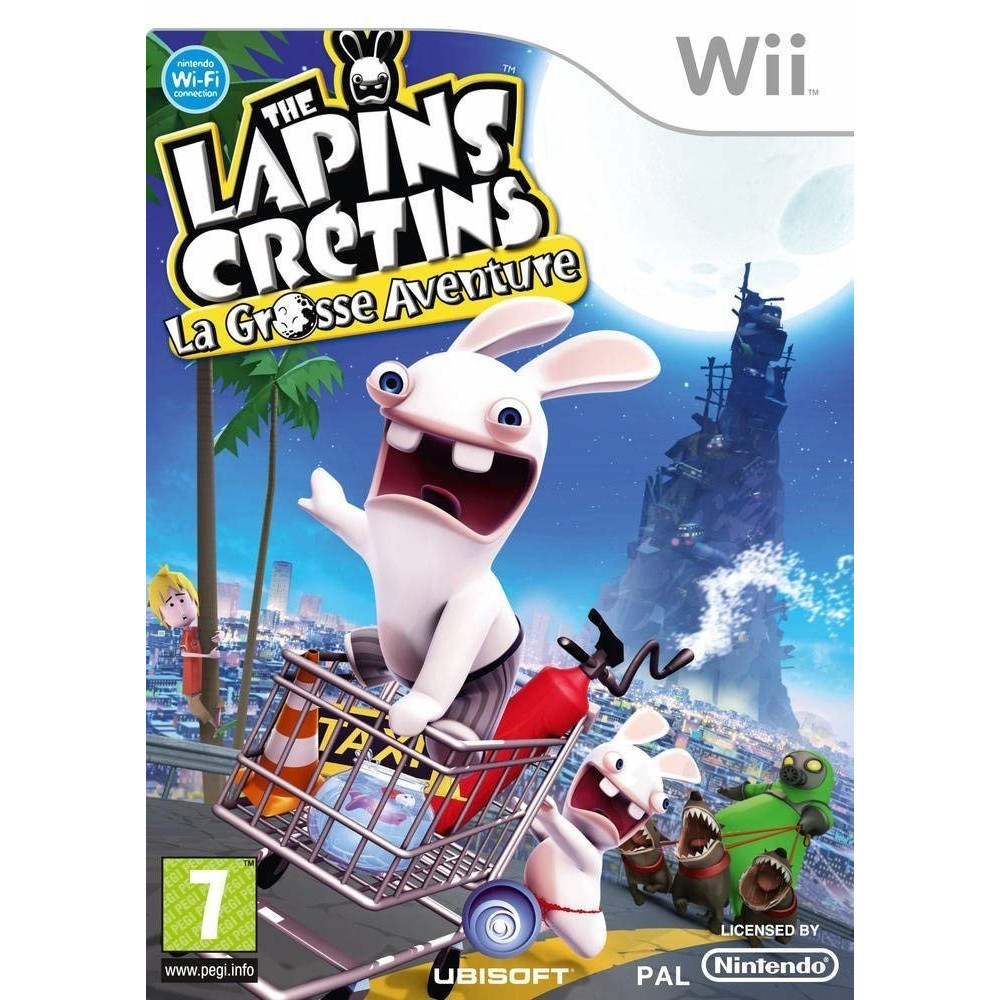 THE LAPINS CRETINS LA GROSSE AVENTURE WII PAL-FR OCCASION