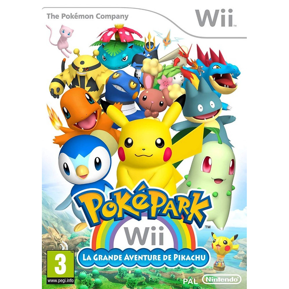 POKEPARK PIKACHU WII PAL-FRA OCCASION