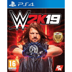 WWE 2K19 PS4 PAL FR NEW