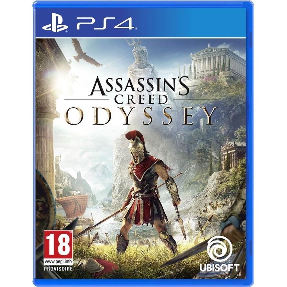 ASSASSIN'S CREED ODYSSEY PS4 EURO FR NEW