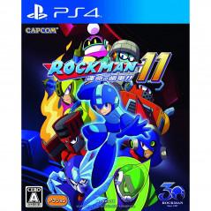 ROCKMAN 11 PS4 JPN New