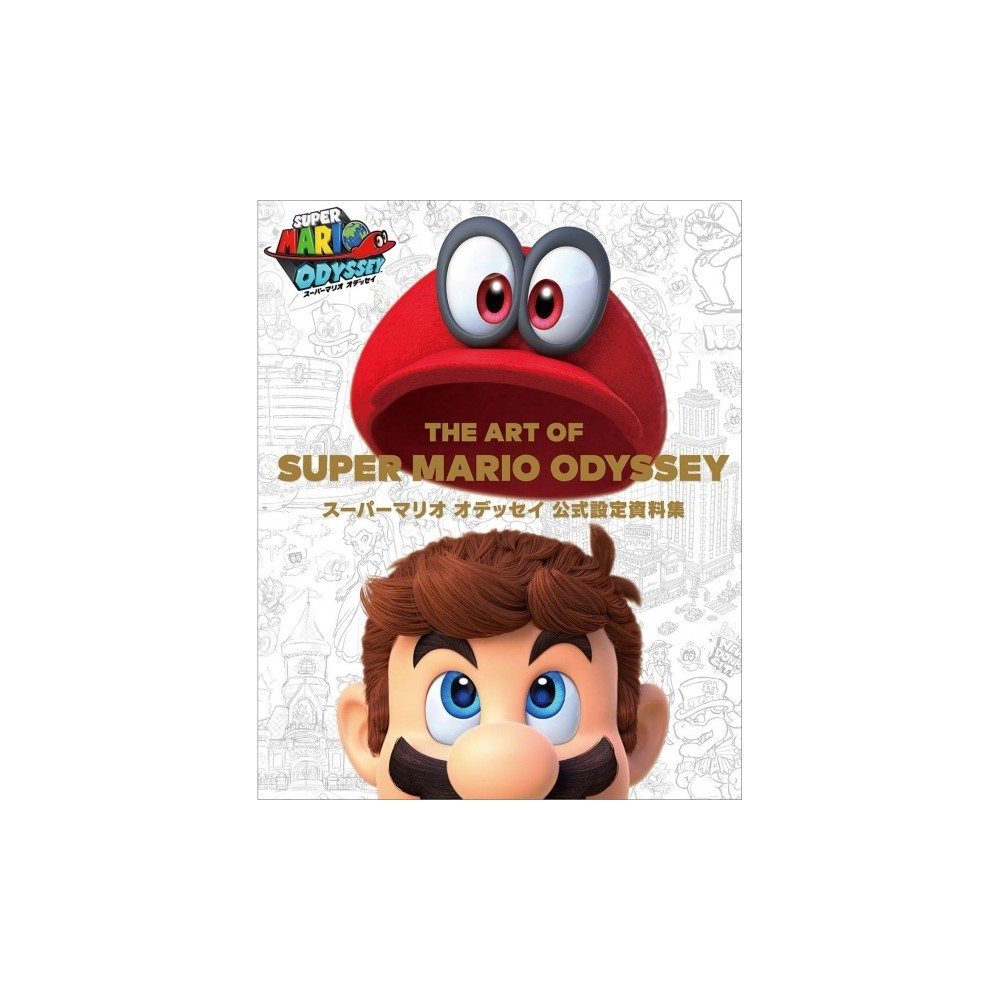 THE ART OF SUPER MARIO ODYSSEY OFFICIAL JAP NEW