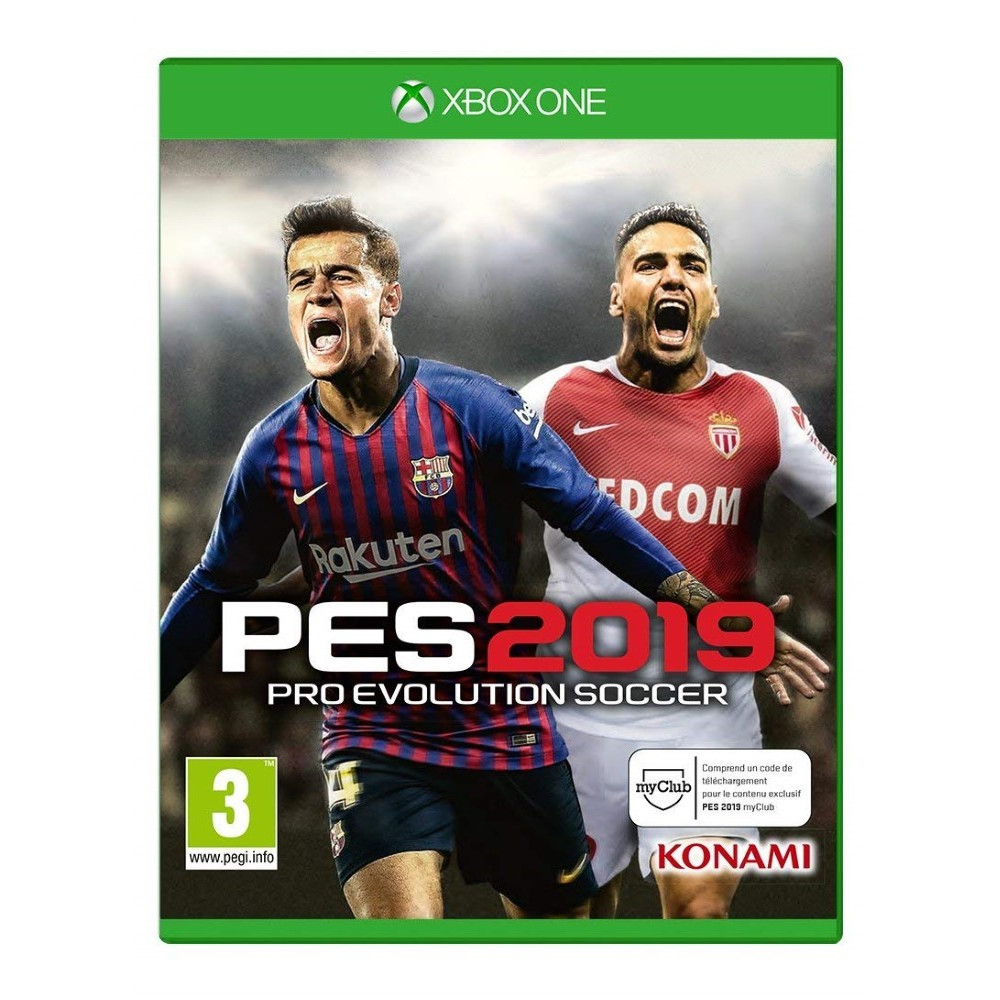 PRO EVOLUTION SOCCER 2019 XBOX ONE FR OCCASION